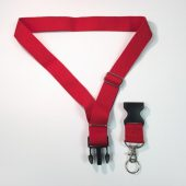 Deluxe Neck Strap RED