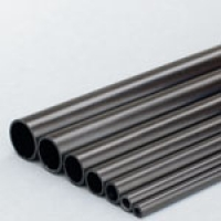 Carbon Fibre Round Tube 10.0mm x 8.0mm x 1m