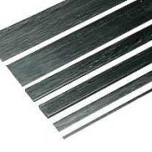 Carbon Fibre Batten/Strip 0.8mm x 25.4mm x 1m