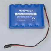 Battery Pack 6.0V 2200mAh Ni-MH Rx Pk Flat