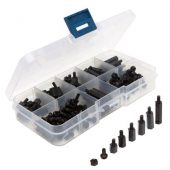 180 piece set of plastic standoffs for quad racing