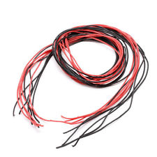 Silicone Wire 30AWG x 1m Red/Black
