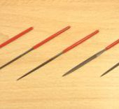 5pc Steel Mini Needle File Set In Wallet