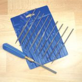 10pc Needle File Set with Handle