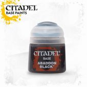 Citadel Paint Abaddon Black (12ml)
