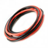 TTech Silicone Wire 12AWG Red/Black 1m ea