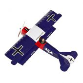 Super Flying Model Fokker DVII ARTF Blue