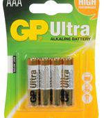 4 AAA Alkaline Batteries