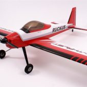 Max Thrust Pro-Build Balsa Ruckus Kit Red – IC or Electric